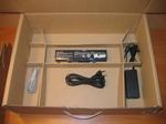 Расположение элементов в коробке ноутбука RoverBook Partner W500L