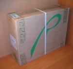 Внешний вид коробки с ноутбуком RoverBook Partner W500L