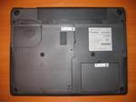 Нижняя часть ноутбука RoverBook Partner W500L